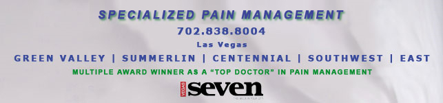 Specialized Pain management in Las Vegas